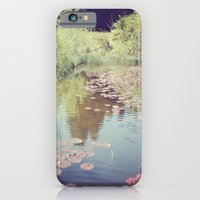 iPhone & iPod Case featuring Lillypads by StaceeIrvine
