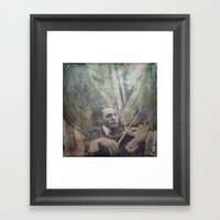 Angel Loves The Earth Framed Art Print