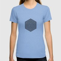5050 No.2 Womens Fitted Tee Athletic Blue SMALL