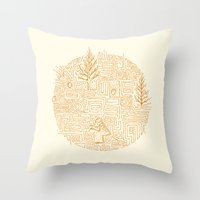 Fossil Throw Pillow