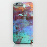 iPhone & iPod Case featuring Untitled - Abstract Painting by Liz Moran