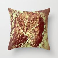 You Left Your Mark Throw Pillow