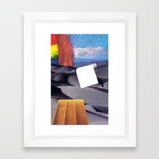 Spill Tool Framed Art Print