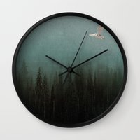 Look to the North Wall Clock
