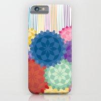 Between The Flowers iPhone 6 Slim Case