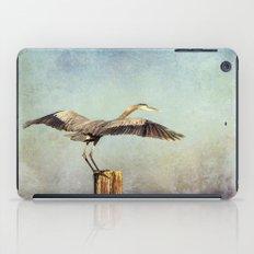 Blue Heron Landing iPad Case