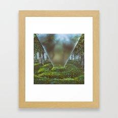 RIFFLE GLASS EPOCH (everyday 08.10.16) Framed Art Print