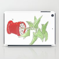 my plant ipad iPad Case