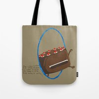 The Cake is Alive Tote Bag