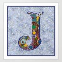 The Letter J Art Print