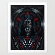 Star . Wars Galactic Empire - Darth Sidious / Emperor Palpatine Art Print