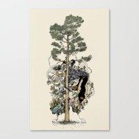 Everdream Pine Canvas Print