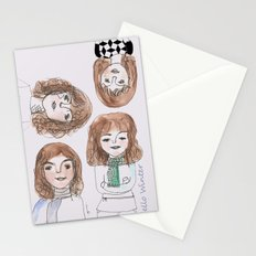 Hello winter Stationery Cards