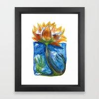 Wild Lotus Framed Art Print