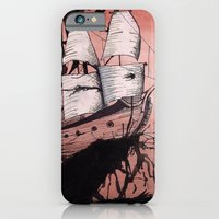 iPhone & iPod Case featuring Sea of Ink by Mike Oncley