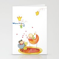 Baby surprise Stationery Cards