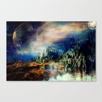 Cosmic Xanadu Canvas Print