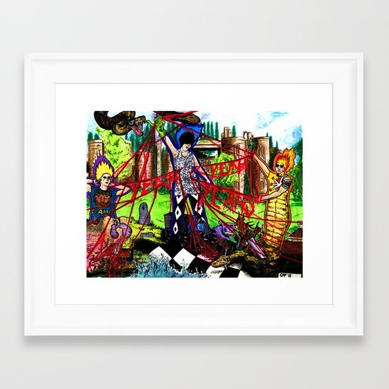 """Fever to Tell"" by Cap Blackard Framed Art Print"