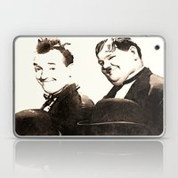 Laurel And Hardy Laptop & iPad Skin