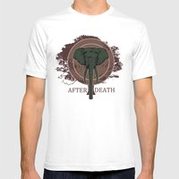 The Elephant Mens Fitted Tee White SMALL