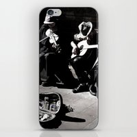 Street Musicians iPhone & iPod Skin