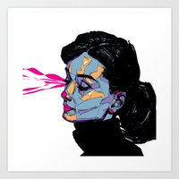 A. Hepburn Art Print