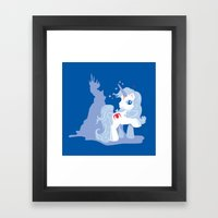 My Little Last Unicorn Framed Art Print