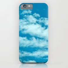 Beautiful blue sky and fluffy clouds iPhone 6s Slim Case