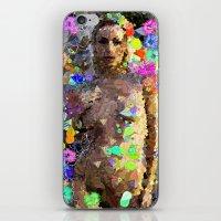 Colorful Nude iPhone & iPod Skin