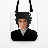 Mr. Tambourine Man Tote Bag