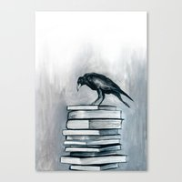 I Don't Read As Much As … Canvas Print