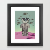 new anatomy 01 -  Framed Art Print