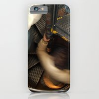 iPhone & iPod Case featuring Inside the Astronomical Clock, Prague, Spiral Stairs  by Serenity Photography