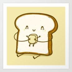 Bread & Butter Art Print