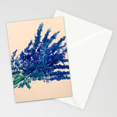 Fresh Cut Lavender Watercolors On Paper Edit Stationery Cards