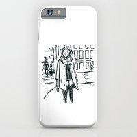 Brush Pen Fashion Illustration - Dreamer iPhone 6 Slim Case