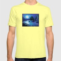 .:Kiss The Girl:. Mens Fitted Tee Lemon SMALL