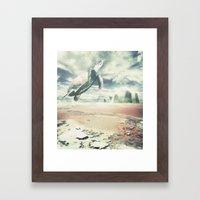 Into The Sky Framed Art Print