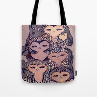 Day Owls Tote Bag