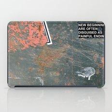 New Beginnings! iPad Case