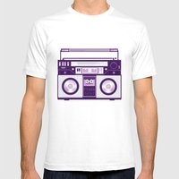 Listen to my... Mens Fitted Tee White SMALL