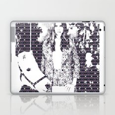 Cara and her Horse Laptop & iPad Skin