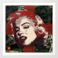 Pop Vamp Art Print