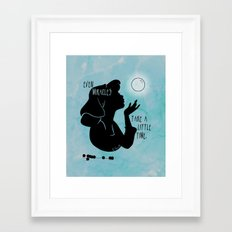 Even Miracles Take a Little Time Framed Art Print