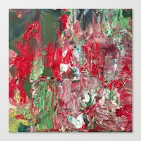 Color Commentary #17: Red & Green [Lena Levin, In Studio With Masters] Canvas Print