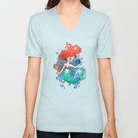 Finding New Friends Unisex V-Neck