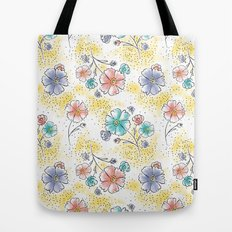 Brilliant Blooms Tote Bag