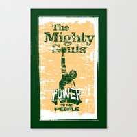 The Mighty Souls: Soul &… Canvas Print