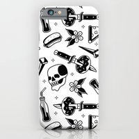 iPhone Cases featuring Eat Fast Die Fat! by DerickJames