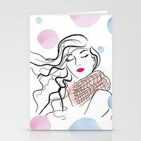 Fresh Wind Stationery Cards